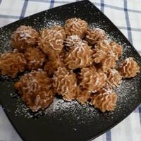 Вкусное печенье Творожно-яблочное