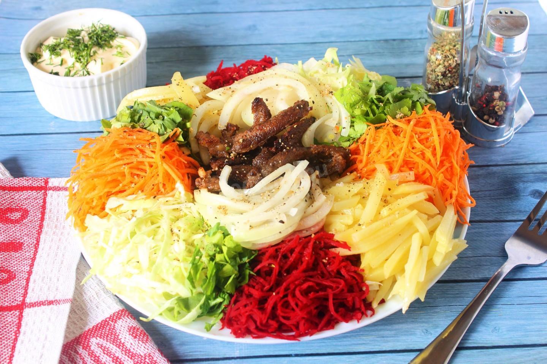 салат чафан классический рецепт с фото пошагово данный момент
