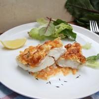 Филе хека в заливке - рецепт пошаговый с фото