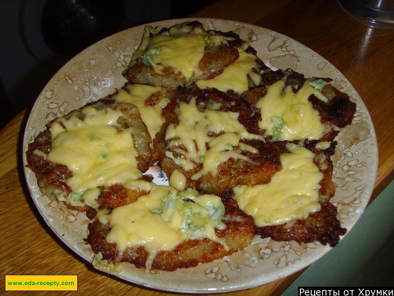 Драники картофельные с сыром в духовке рецепт с пошагово в