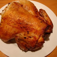 Курица на углях по-походному
