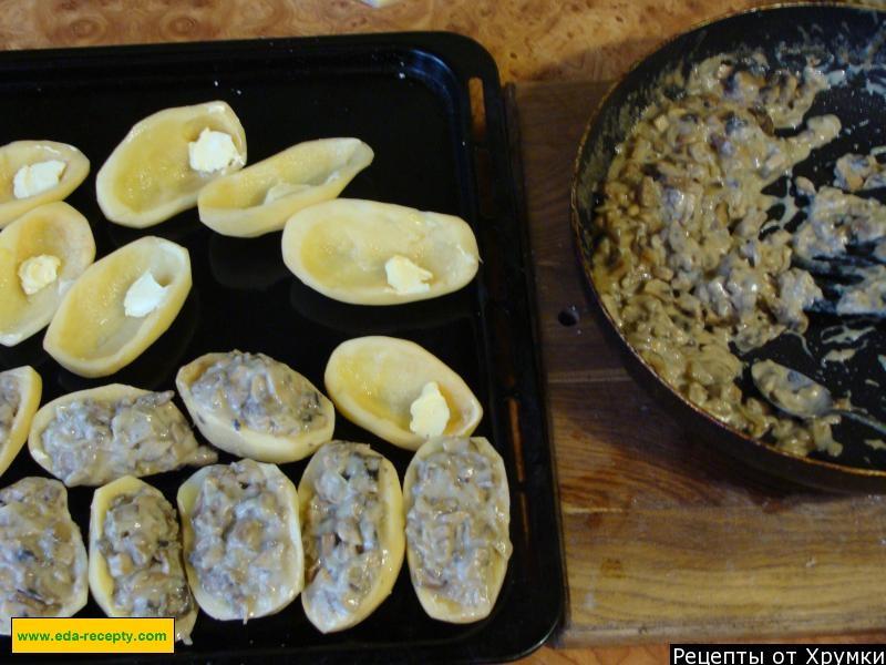 рецепт жульена с грибами и сметаной должно