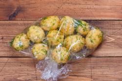 Молодой картофель в мундире запеченный в рукаве - рецепт пошаговый с фото