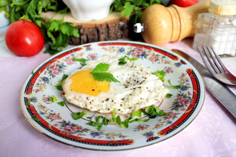 Глазунья по-восточному - рецепт пошаговый с фото