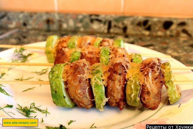 Фото рецепт кабачки с фаршем