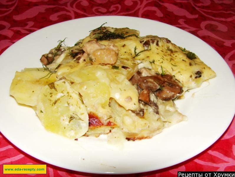 Курица по-французски с картофелем 25
