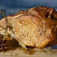 Корейка свиная на кости в духовке
