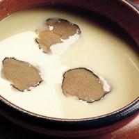 Картофельно-луковый суп с трюфелями