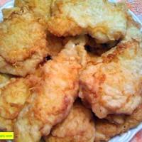 Куриные отбивные из грудки с сыром