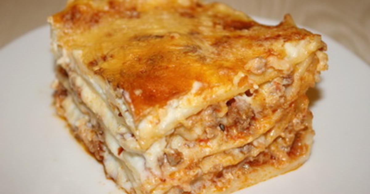 лазанья самый простой рецепт приготовления