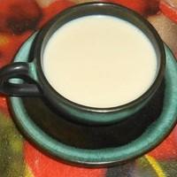Зеленый чай с молоком латте