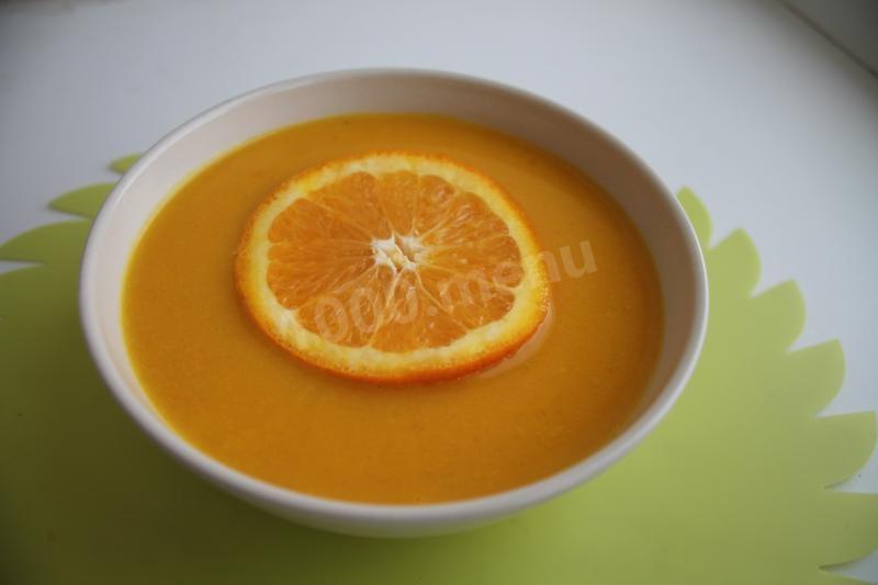 Морковный суп с имбирем рецепт с фото
