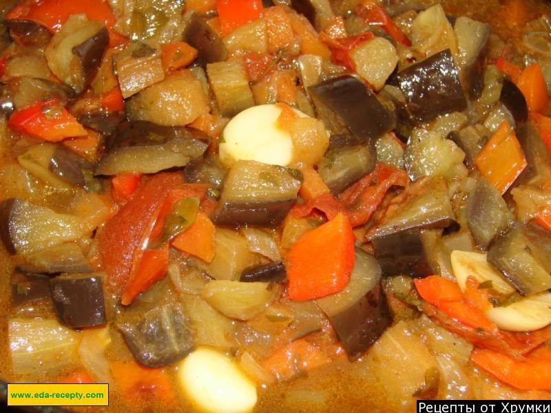 фото болгарским овощное с рагу перцем с