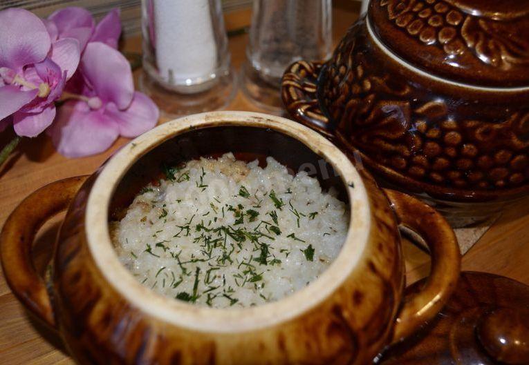 Треска с рисом