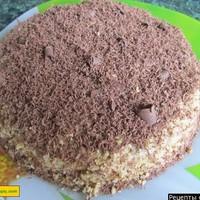 Французский блинный торт Крепвиль