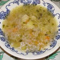 Рыбный суп уха из головы толстолобика