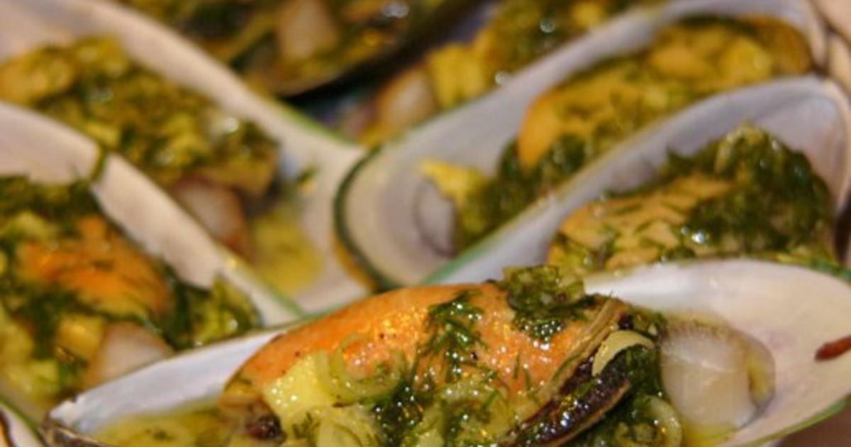 Мидии рецепты приготовления пошагово в