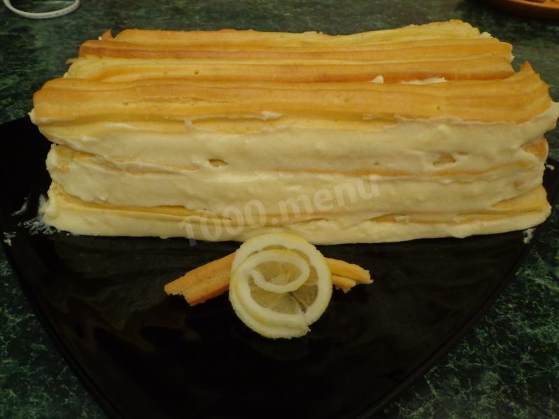 Торт заварной