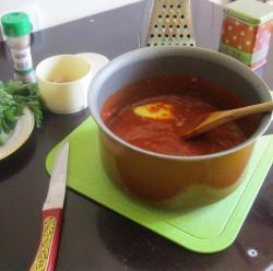 Соус для пиццы из томатной пасты