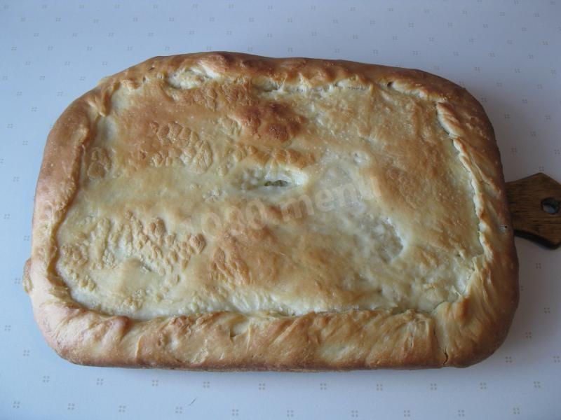 Пирог с мойвой рецепт с фото
