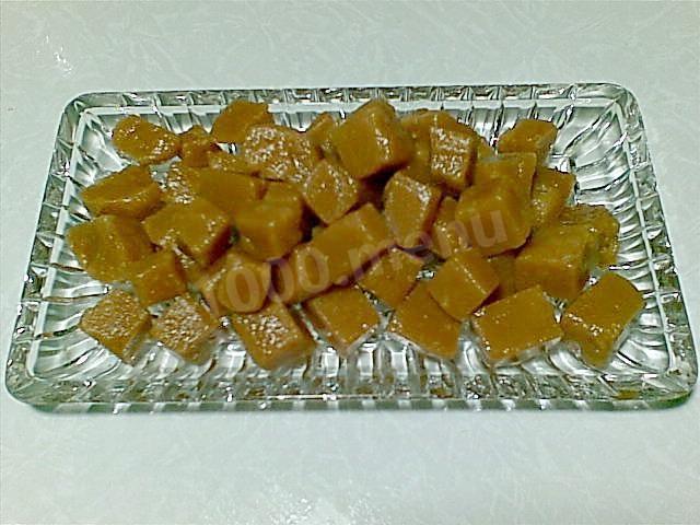 Кулинарный рецепт сливочная помадка с