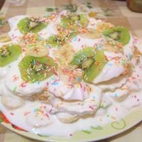 фруктовый торт из зефира без выпечки