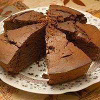 Торт из каштанов и шоколада