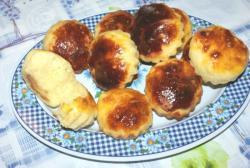Французские булочки с сахаром