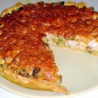 Заливной пирог с капустой на сметане — рецепт с фото ...
