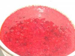 Брусничный соус из брусники к мясу