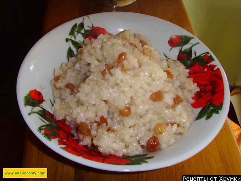 Рецепт кутьи из риса с медом