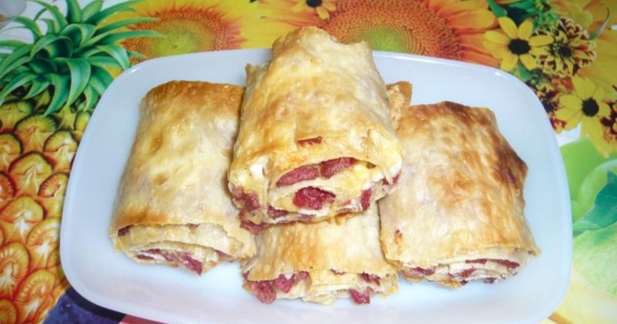 горячие бутерброды рецепты с видио из лаваша