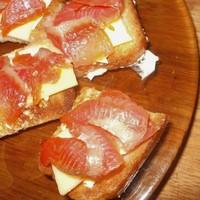 Бутерброды с семгой - Кростини