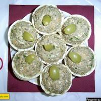 Тарталетки с куриной грудкой копченой - рецепт пошаговый с фото