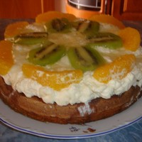 Фруктовый торт Фрукты в желе