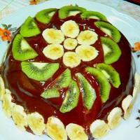 Торт из пряников бананов сметаны без выпечки