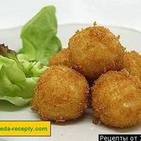 Картофельные шарики из пюре