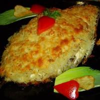 Запеченная скумбрия в духовке с картофелем