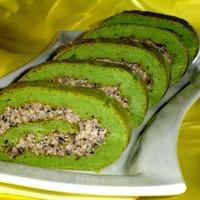 Закусочный рулет Зеленый-презеленый