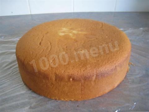 бисквит воздушный.как приготовить воздушный бисквит для торта