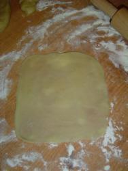 Молдавские пирожки из постного теста с капустой в духовке - Вэрзэре