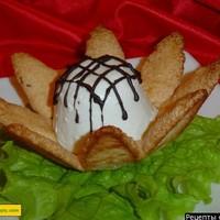 Пирожное с творогом Лотос