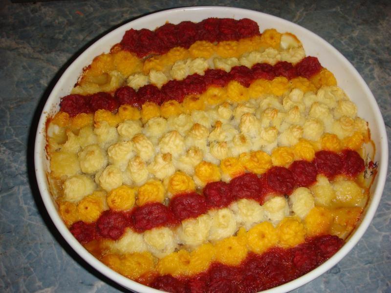 рецепт с фото картофельная запеканка с курицей