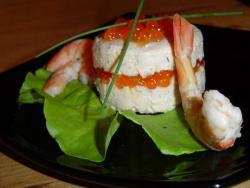 Тимбаль с лососем, пошаговый рецепт с фото