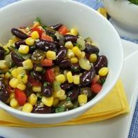 Салат с кукурузой Мазурка