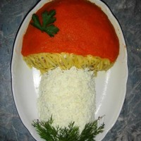 Салат Грибок
