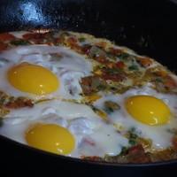 Яичница Шакшука - рецепт пошаговый с фото