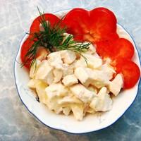 Салат из ананаса рецепт с фото пошагово