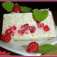 Торт творожный с желатином, ягодами