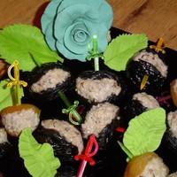 Чернослив фаршированный грецкими орехами